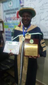 116Alh Dr. Ibrahim Gerawa bags 2018 FELLOWSHIP award of CIPRMP Ghana