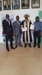48PROF CHIJIOKE NWAOZUZU, DIRECTOR OF EMERALD ENERGY INSTITUTE OF UNIVERSITY OF PORT HARCOURT BAGS FELLOWSHIP AWARD.