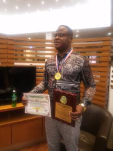 74Dr. Paddy Iyamu, Bags CIPRMP FELLOWSHIP award
